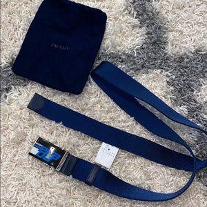 Authentic Prada seatbelt belt size 42